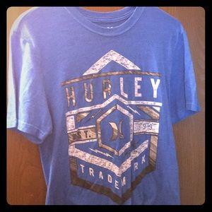 Blue Hurley Tee